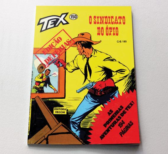 Tex Numero 150 - Primeira Edição - Facsimile