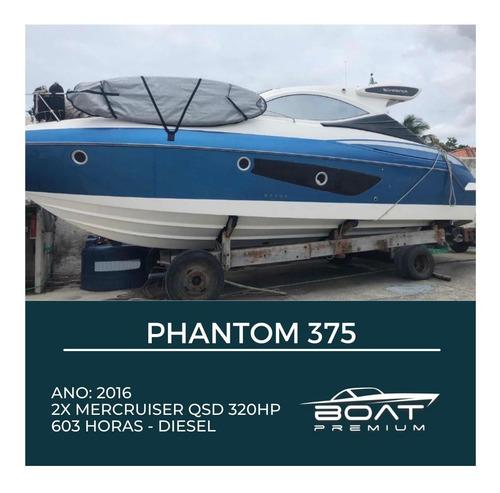 Imagem 1 de 13 de Phantom 375, 2016, 2x Mercruiser Qsd 320hp - Evolve - Full