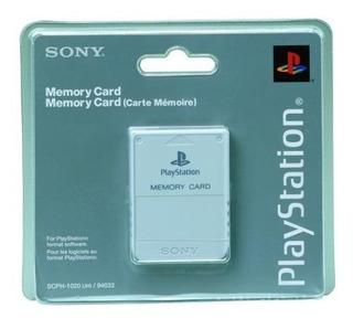 Accesorios,tarjeta De Memoria De Sony Playstation (blanc..