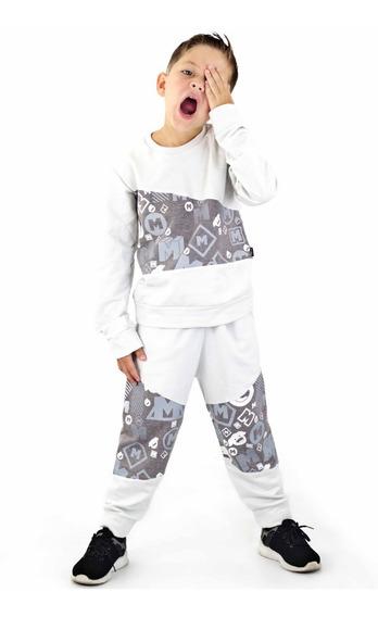 Conjunto Mono Sweaters Momo Kids Niños Algodon Detal Mayor