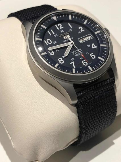 Relógio Seiko Snzg15 - Crystal De Safira