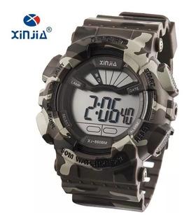 Reloj Militar Camuflaje Resistente Al Agua 50 M Xinjia