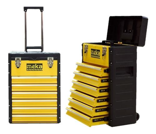 Caja Gabinete Porta Herramientas Meka Metalico Profesional