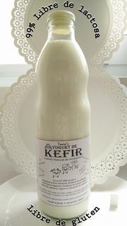 1 L Kefir De Leche, Yogurt Kefir Probiótico Regenera Flora