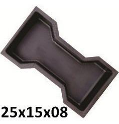 Forma Plástica Ossinho/intertravado H8