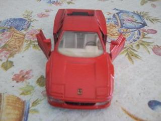 Carrinho Brinquedo Miniatura Ferrari 512 Tr Vermelha