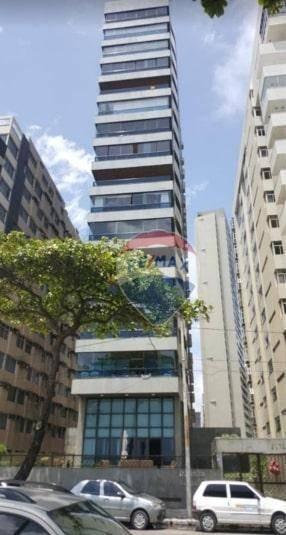 Alugo Apartamento, Av Boa Viagem, 346m2, 1 Por Andar, Varanda Com Vista De 180o Da Praia - Ap0697
