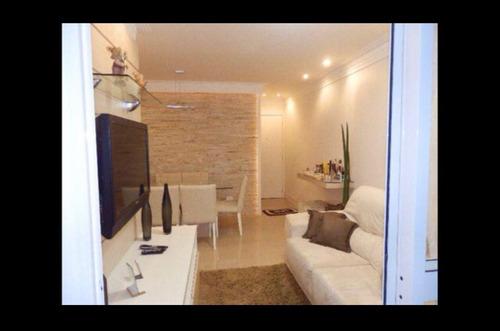 Apartamento 3 Dormitórios Mobiliado  Aquarius - Ap3-1671