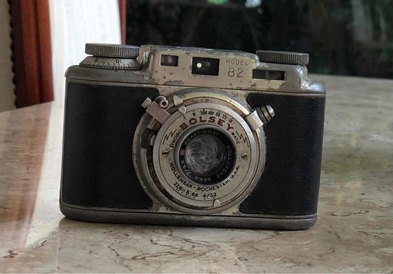 Máquina Fotográfica Bolsey (anos 40/50)
