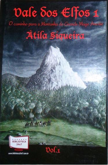 Livro Vale Dos Elfos 1 - Capa Antiga Só 11,25 Super Barato