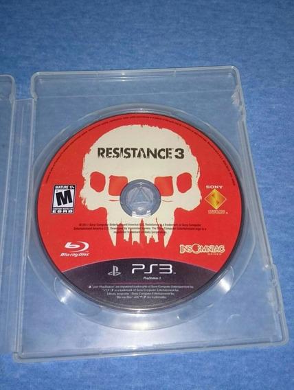 Resistance 3 Ps3 M. Fisica Frete R$10