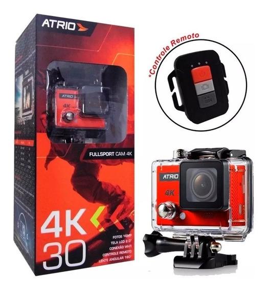 Câmera Filmadora Action Cam 4k Fullsport C/ Wifi 2.0 - Dc185