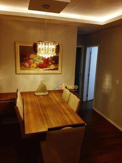 Apartamento Com 2 Dormitórios À Venda, 58 M² Por R$ 300.000 - Loteamento Santo Antônio - Itatiba/sp - Ap0412