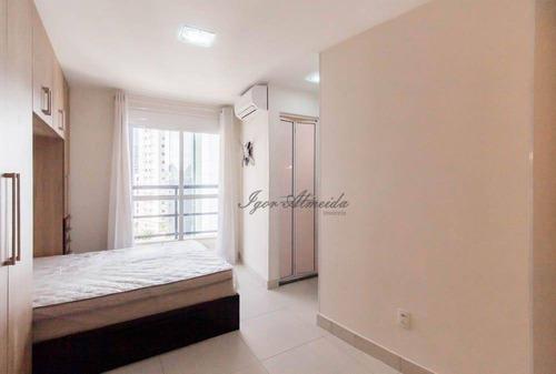 Imagem 1 de 19 de Flat Com 1 Dormitório Para Alugar, 30 M² Por R$ 2.450,00 - Cerqueira César - São Paulo/sp - Fl0126