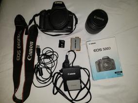 Câmera Profissional Canon Eos 500d