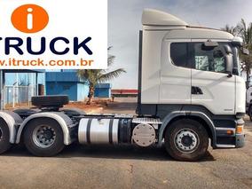 Scania R 440 6x4 Ano 2014 Único Dono 5 Unidades Muito Novas.