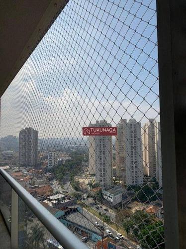 Studio Com 1 Dormitório Para Alugar, 36 M² Por R$ 1.700,00/mês - Vila Augusta - Guarulhos/sp - St0148