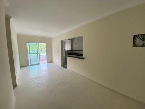 Imagem 1 de 16 de Apartamento Pronto Com 2 Dormitórios À Venda, 86 M² Por R$ 430.000 - Canto Do Forte - Praia Grande/sp - Ap3233