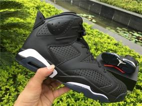 Tênis Nike Air Jordan Retrô 6 Black Cat