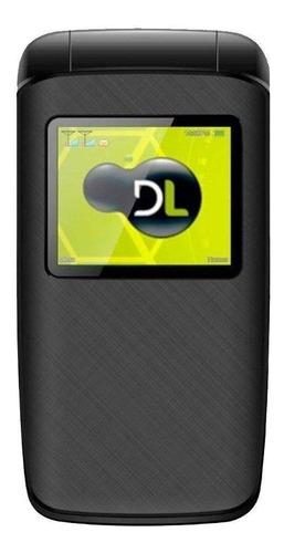 Celular Básico Dl Yc-330 Dual Sim 32 Mb Preto 32 Mb Ram