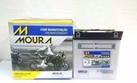 Bateria Moura Moto Mv5-d  5ah Yamaha Xtz 125 - Yb5l-b
