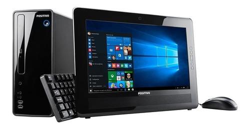 Imagem 1 de 10 de Cpu + Monitor Positivo Ds3515 Intel Dual Core 2gb 320gb Novo