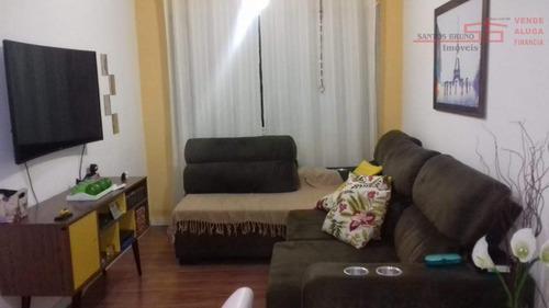 Imagem 1 de 21 de Apartamento Com 2 Dormitórios À Venda, 53 M² Por R$ 299.000,00 - Vila Marina - São Paulo/sp - Ap1963