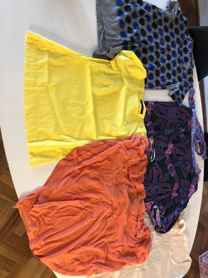 Liquidacion Total Blusas Remeras Muj Sm Custo Marni Zara Ss