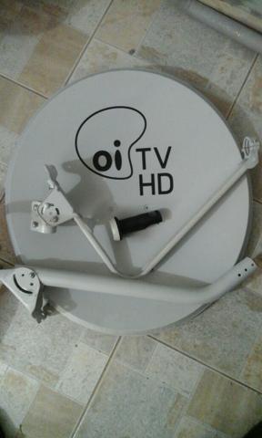 Kit 6 Antenas 60 Cm Oi Tv S Lnb Frete Via Transportafora