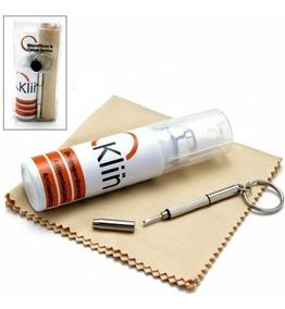 Kit Para Limpeza De Óculos - Limpa Lentes + Flanela + Chave