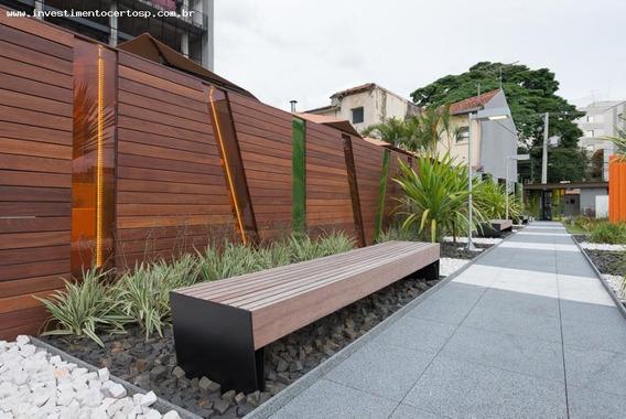 Apartamento Para Venda Em São Paulo, Vila Madalena, 1 Dormitório, 1 Banheiro, 1 Vaga - Diseno Pinheiros
