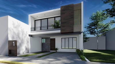 Conjunto Residencial De Hermosas Casas Nuevas En Atlixco