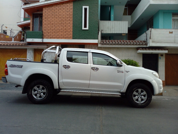 Toyota Hilux Srv Turbo Intercooler 2011 Blanco Full Equipo