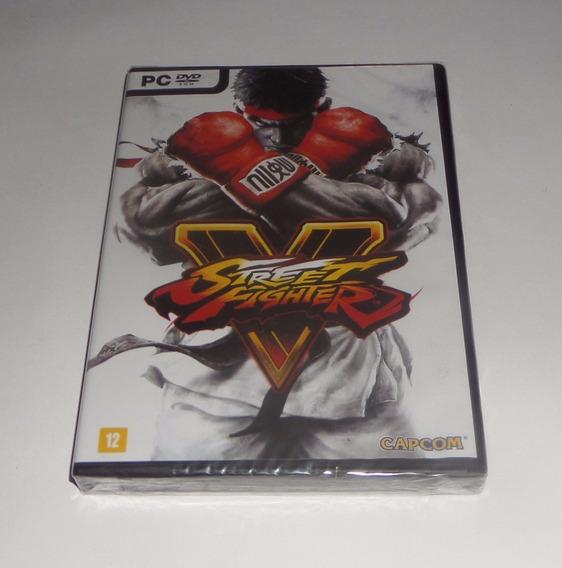 Street Fighter V 5 Original Lacrado Mídia Física Pc