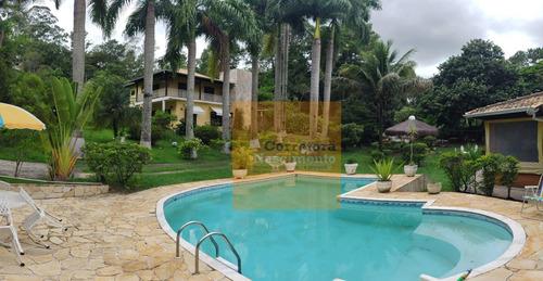 Chácara Com 3 Dormitórios, 1513 M² - Venda Por R$ 1.800.000,00 Ou Aluguel Por R$ 6.000,00/mês - Condomínio Lagoinha - Jacareí/sp - Ch0072