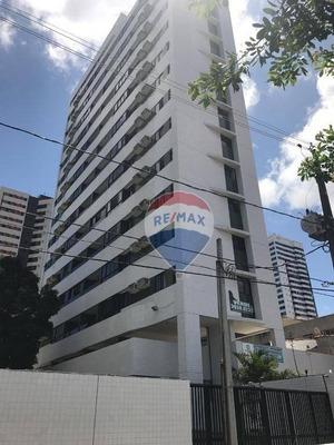 Apartamento Para Alugar, 90 M² Por R$ 2.700/mês - Torre - Recife/pe - Ap0808