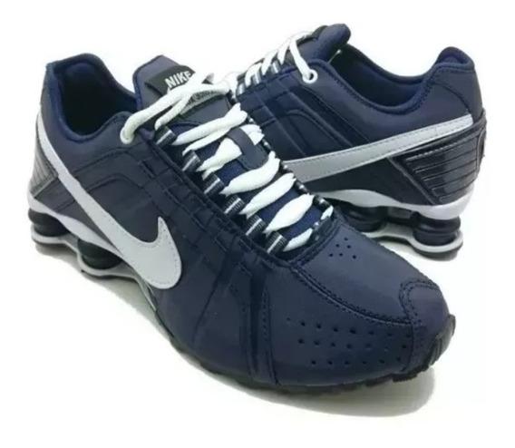 Tênis Masculino Nike Shox Nz 4 Molas Macio Original!!