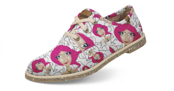 Sapato Usthemp Legend Vegano Casual Art Lolita Pink
