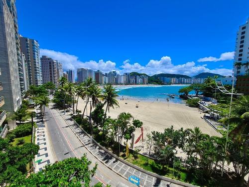 Apartamento Com 4 Dormitórios À Venda, 160 M², Lazer - Praia Das Astúrias - Guarujá/sp - Ap05444 - 68718756