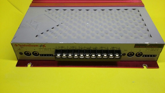 Rockford Fosgate 4.6x Original Alpine Pioneer Sony Banda