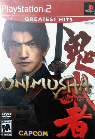 Ps2 - Onimusha Warlords - Original