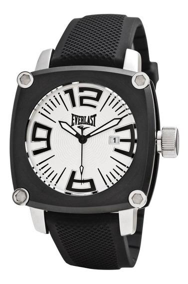 Relógio Pulso Everlast Resistente Aço Masculino E108