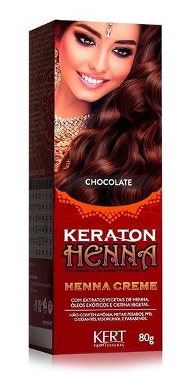 Keraton Henna Creme Kert Chocolate