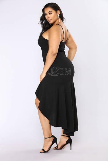 Vestido Plus Size Feminino De Festa Roupas Tamanhos Grandes
