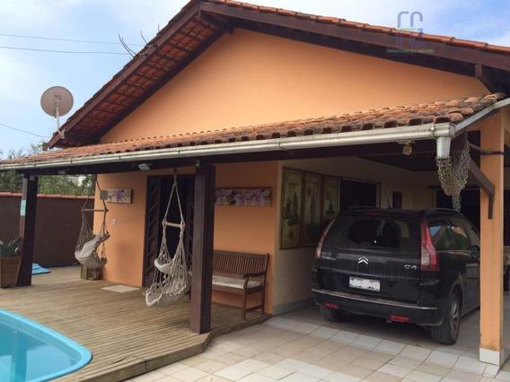 Casa Com Piscina Na Praia De Armação - Penha - Ca0051