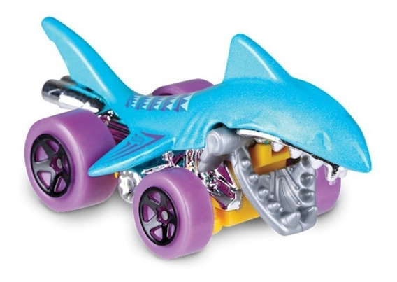 Tiburon Shark Bite Mandibula Hot Wheels Race Off Solo Envios