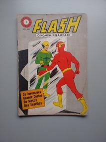 Gibi Hq Álbum Dimensão 5 Flash Homem Relâmpago Ebal