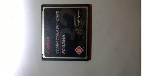 Compactflash Card Fc-32mh High Speed Canon