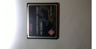 Compactflash Card Fc-32mh High Speed Canon