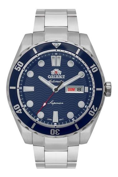 Relogio Orient Masculino Automatico Azul Ocean F49ss003-d1sx